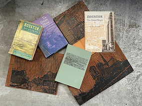 Woodblocks and Books