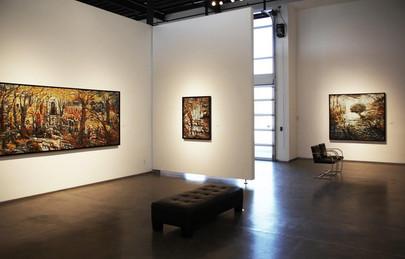 Inland Mountain Journey Series, 2017 LewAllen Galleries, Santa Fe, NM