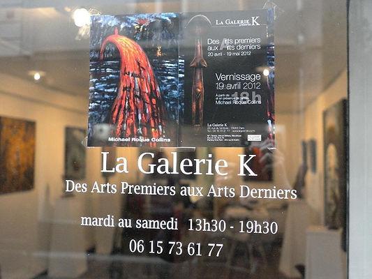La Galerie K, Paris, France, 2012