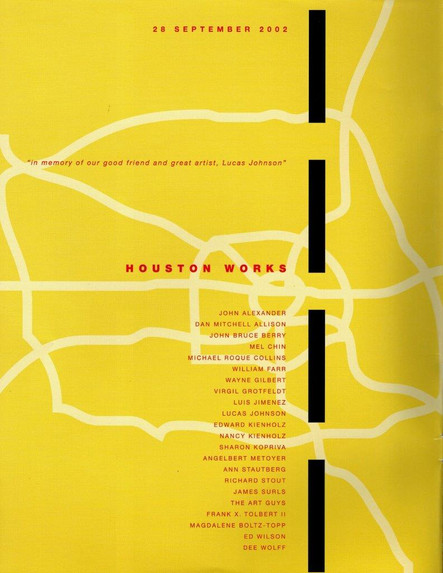 Houston Works, 2002 Artco Galerie, Leipzeig, Germany