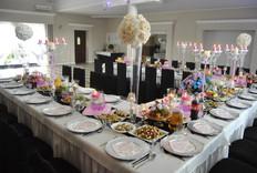 Sala na różowo