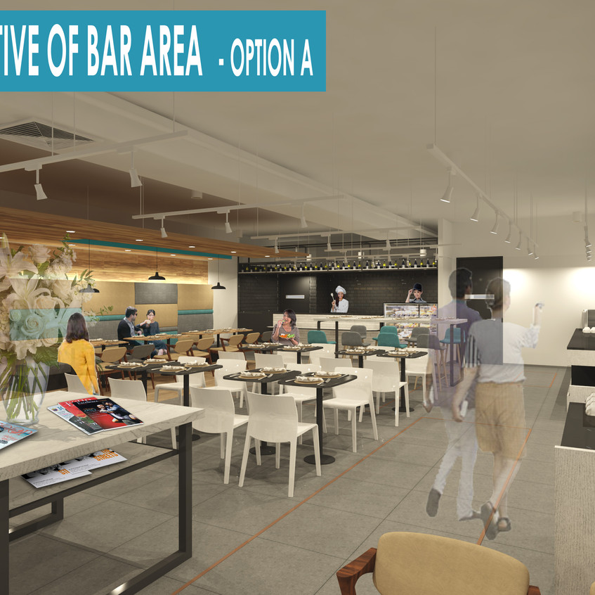 10-perspective of bar area-option A