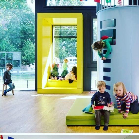 A place for crazy kid 😜#interiordesign #interior #modern #educationcenter #educationcentre