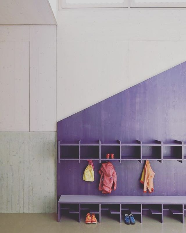 Enough and colorful #educationcenter #modern #interiordesign #interior #modern