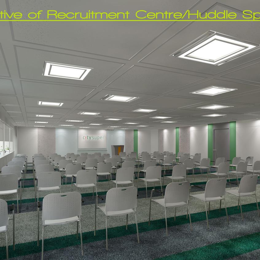 18e_Perspective of Recruitment Centre Huddle Space