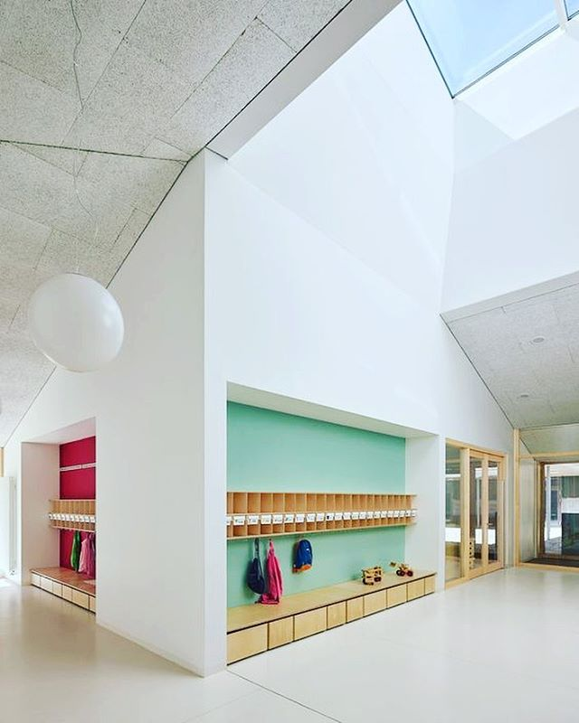 For kid center, no need to be color or fancy