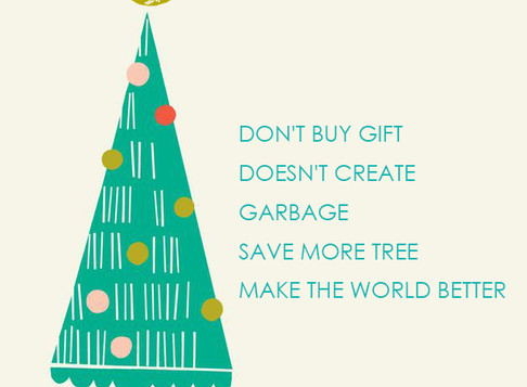Let the Christmas to be meaningful