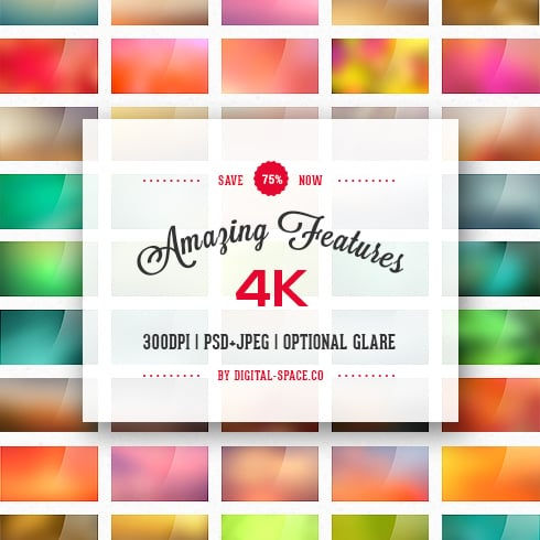 75 Blurred Backgrounds Collection