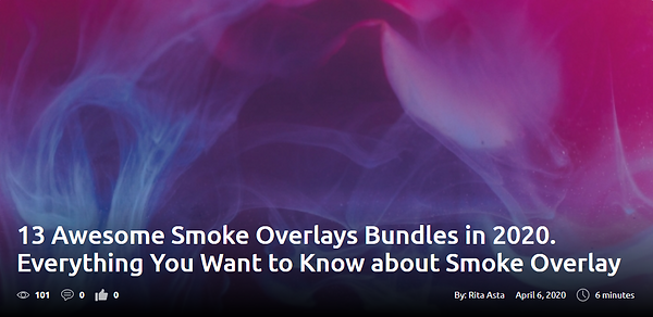 13 Awesome Smoke Overlays Bundles in 2020. Everything You Want to Know about Smoke Overlay