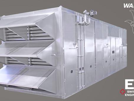New air intake unit