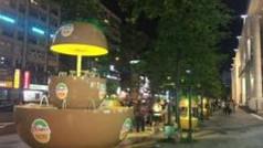 Zespri 台北101地景裝置藝術策劃及佈展