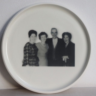 Family Photograph Plate
