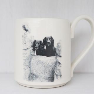 Personalised mug.