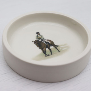 Eventing Photograph on a Small dish.