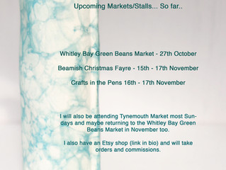 Crafts in the Pen (Skipton) and Beamish Christmas Fair