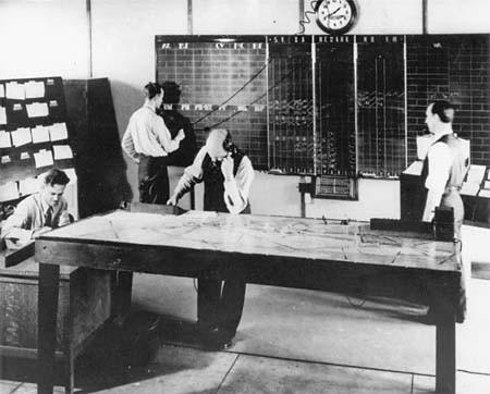 Newark Air Control Cenre - Control Room