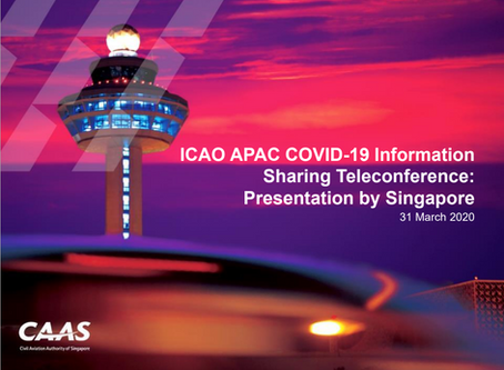 ICAO APAC COVID-19 Information Sharing: Presented by Singapore