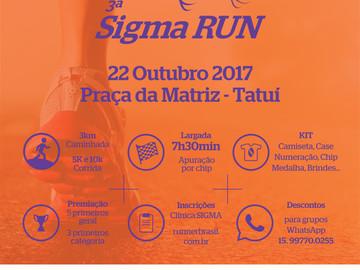 Ópera Mix e Clínica Sigma realizam 3ª Sigma Run.