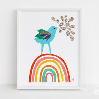 Rainbow Bluebird