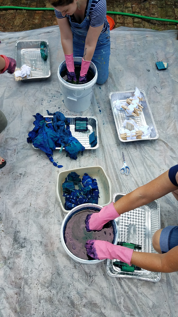 Indigo + Shibori Workshop