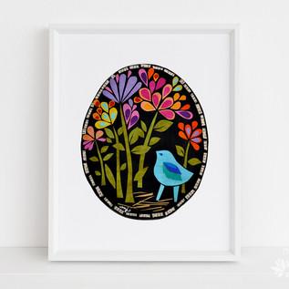 Bluebird in the Midnight Garden