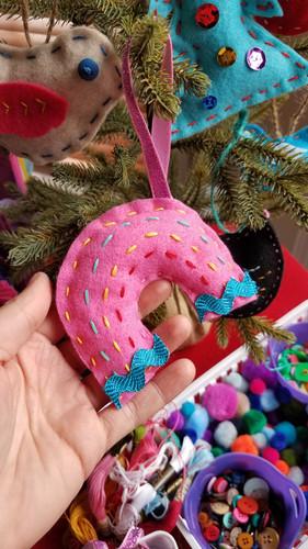 Felt Ornament Craft Night with Megan Jew