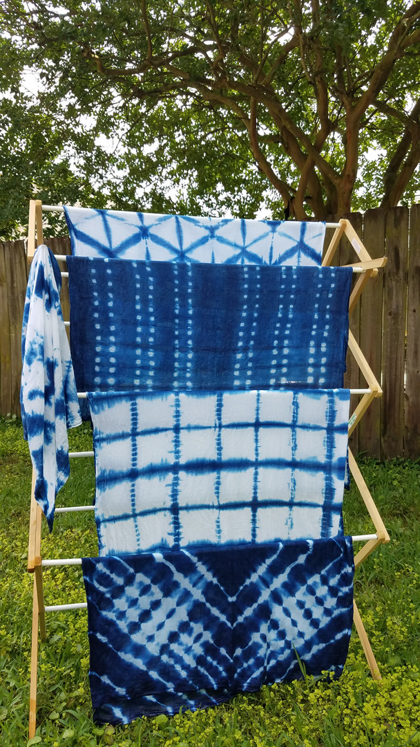 Indigo Dye + Shibori Workshop
