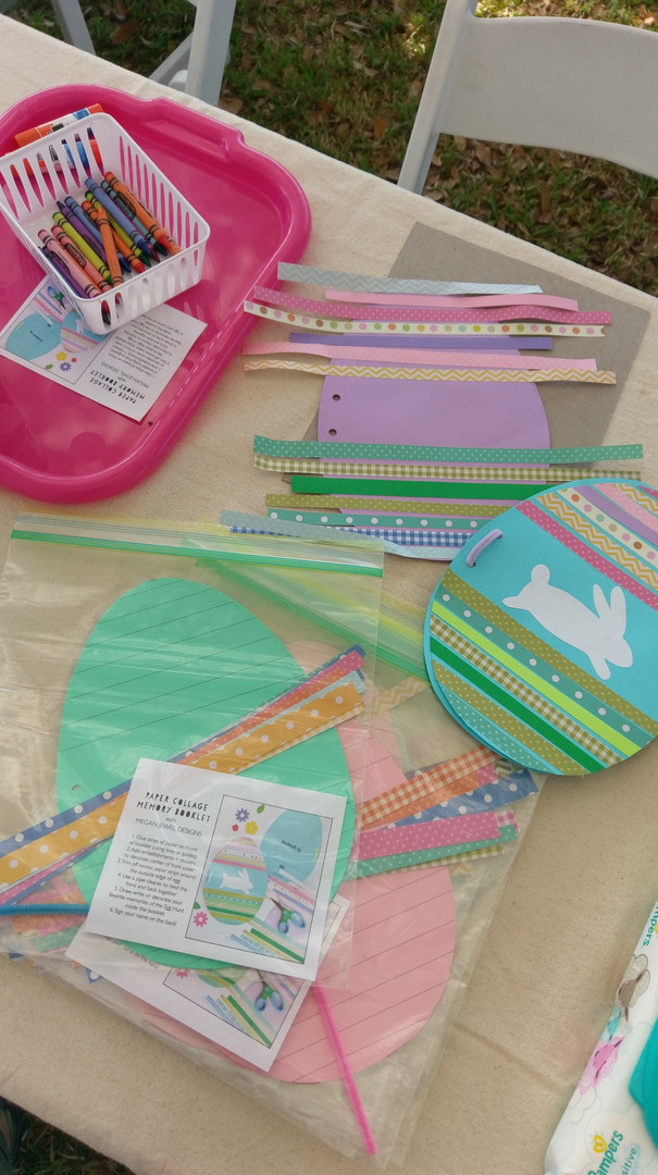 Kids Egg Hunt Craft with Megan Jewel Des