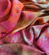 Custom Dyed Silk