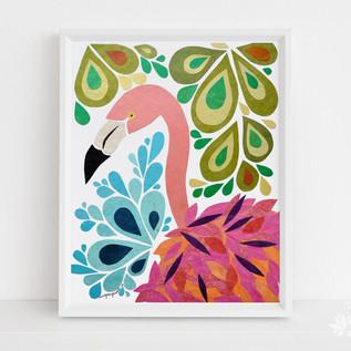 Francine the Flamingo