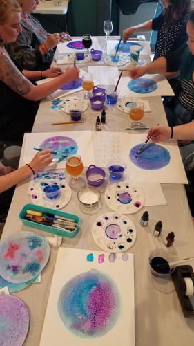 Zodiac Moon Collage Workshop