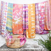 Hand Dyed Silks by Megan Jewel