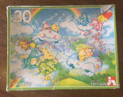 Puzzle Bisounours Carebears Nathan 30 pièces complet.