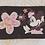 Thumbnail: Porte feuille enfant marron velour Minnie Mouse Disney