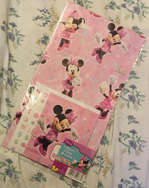 Set de papier cadeaux Minnie Mouse Disney
