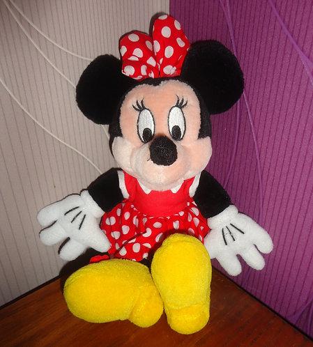 Peluche Disney Minnie Mouse . Disneyland Paris .