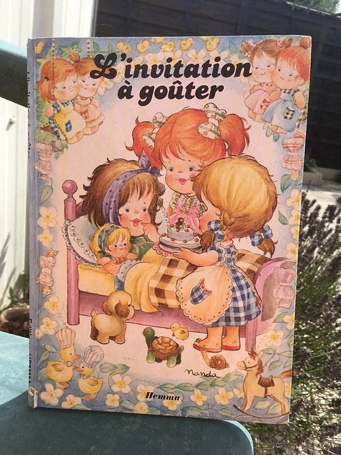 L'invitation à goûter . Livre pour enfants Editions Hemma