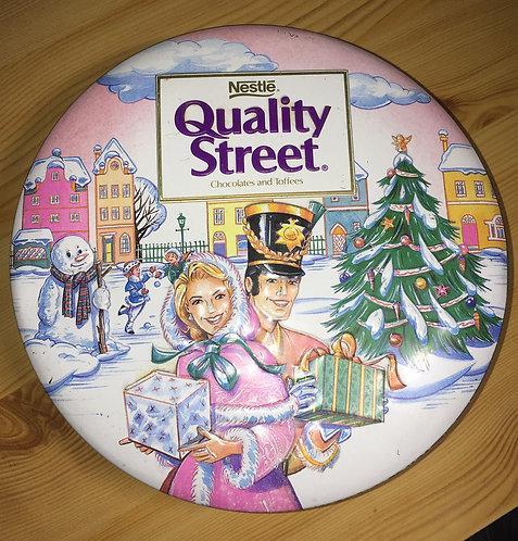 Boite vintage Quality Street 1997