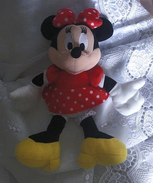 Peluche Disney Minnie Mouse classique .