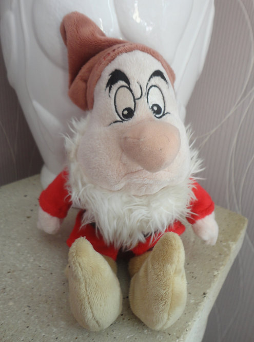 Peluche Disney Les 7 nains Grincheux Grumpy