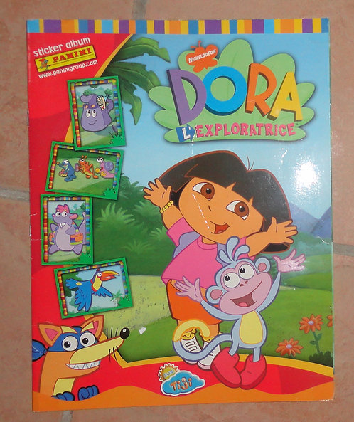 Panini Dora l'exploratrice images Album Complet ! + puzzle bois