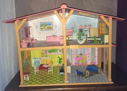 Maison de poupée / dollshouse Glady Delavennat vintage .