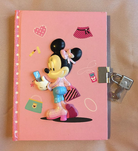 Journal intime Minnie Mouse Disney