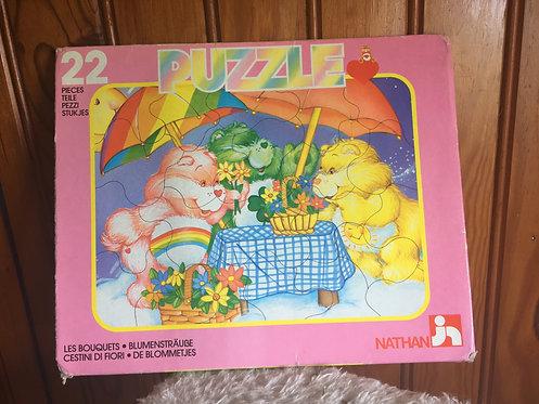 Puzzle bisounours Carebears vintage