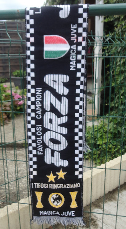 Echarpe de Foot Forza Favolosi campioni. Magica Juve . Juventus