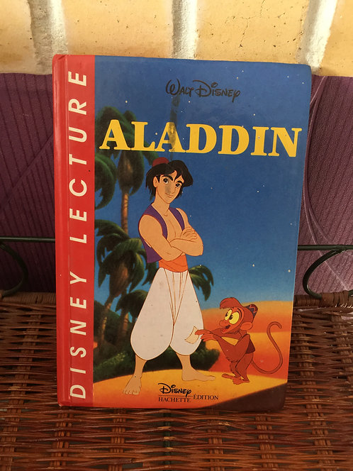 Livre Disney Lecture Aladdin .