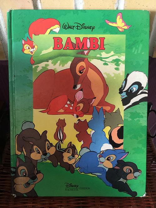 Livre Bambi Walt Disney Cinema