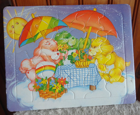 Adorable puzzle bisounours Carebears vintage
