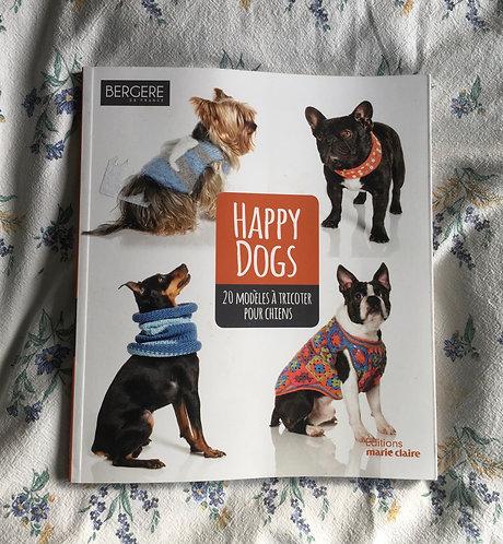 Livre Bergere de France Marie claire Happy Dogs