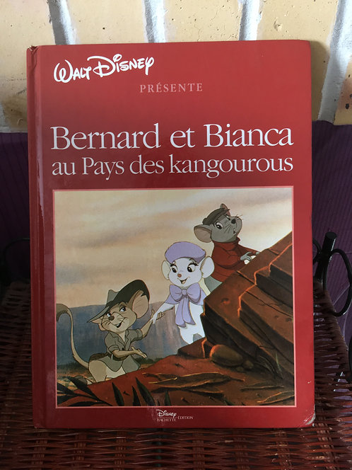 Livre Disney Bernard et Bianca au pays des kangourous